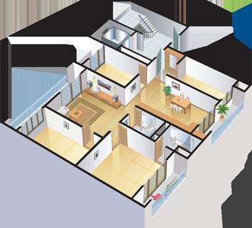 3. 우리 가족이 거주 하는 공간(아파트, 빌라, 다세대등)